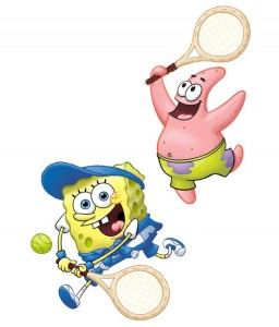 SpongeBob Tennis